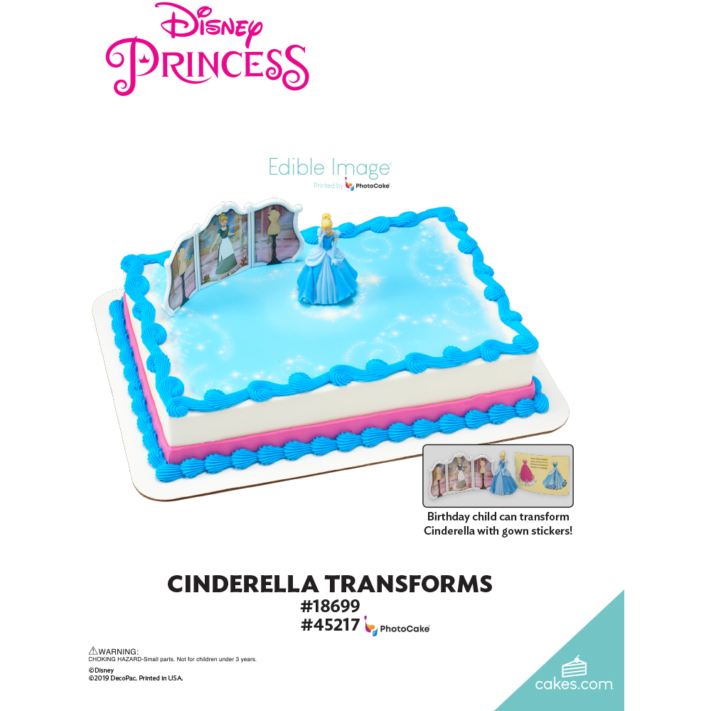 Disney Princess Cinderella Transforms The Magic of Cakes® Page