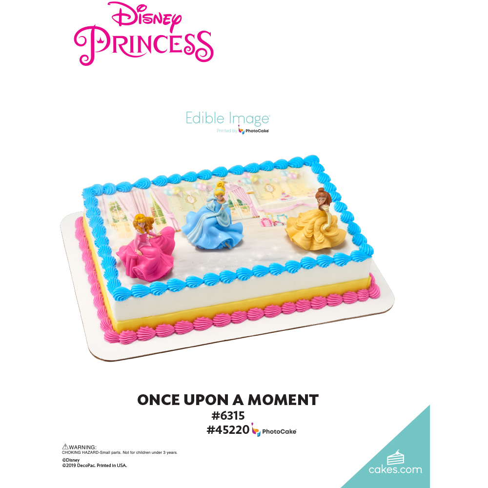 Disney Princess Once Upon a Moment The Magic of Cakes® Page