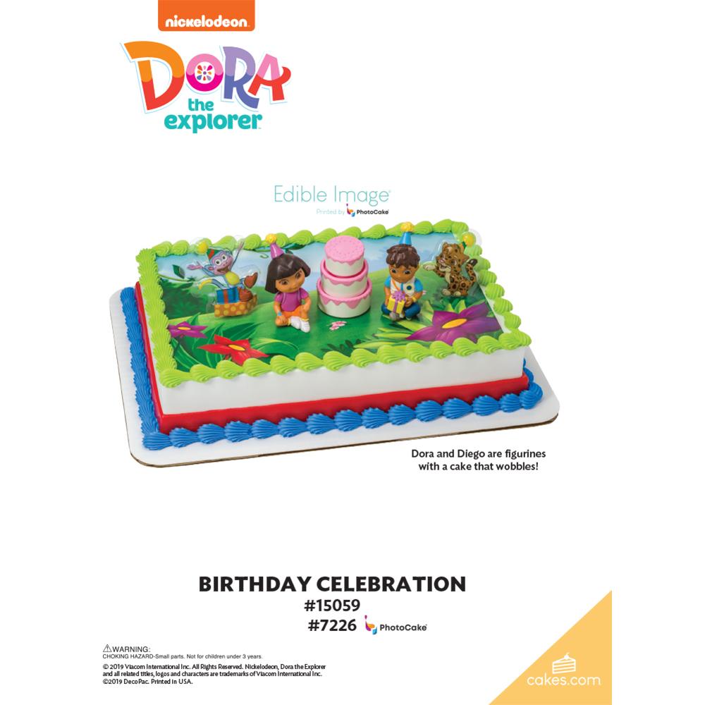 Dora the Explorer™ Birthday Celebration The Magic of Cakes® Page