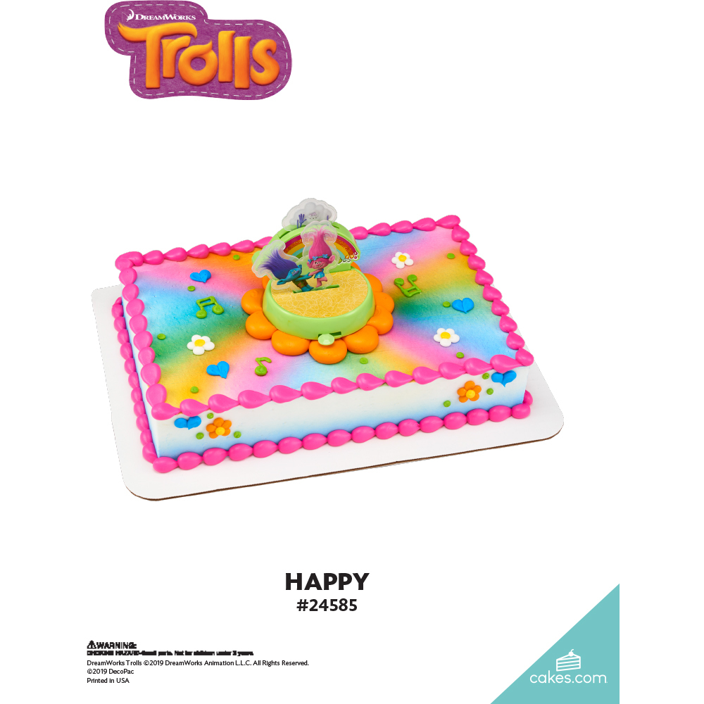DreamWorks - Trolls Happy The Magic of Cakes® Page