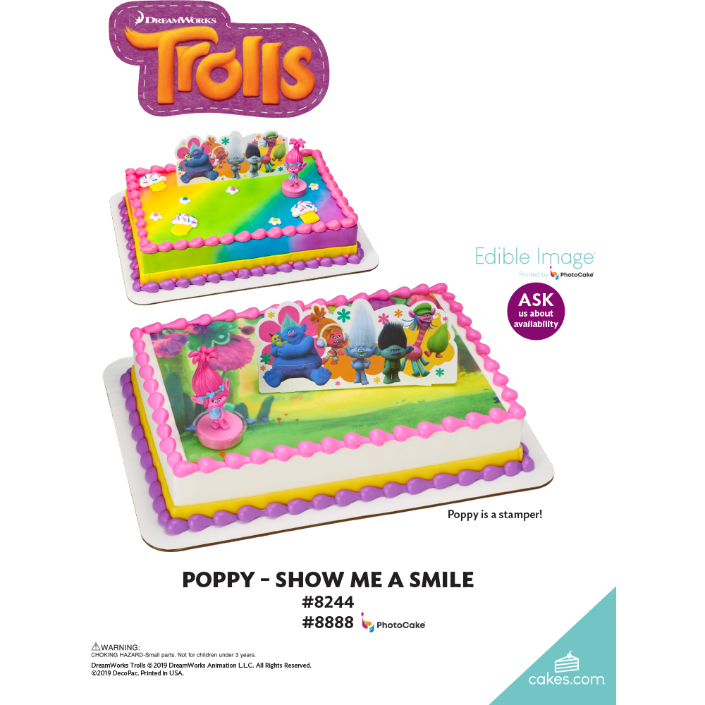 DreamWorks - Trolls Poppy Show Me a Smile The Magic of Cakes® Page