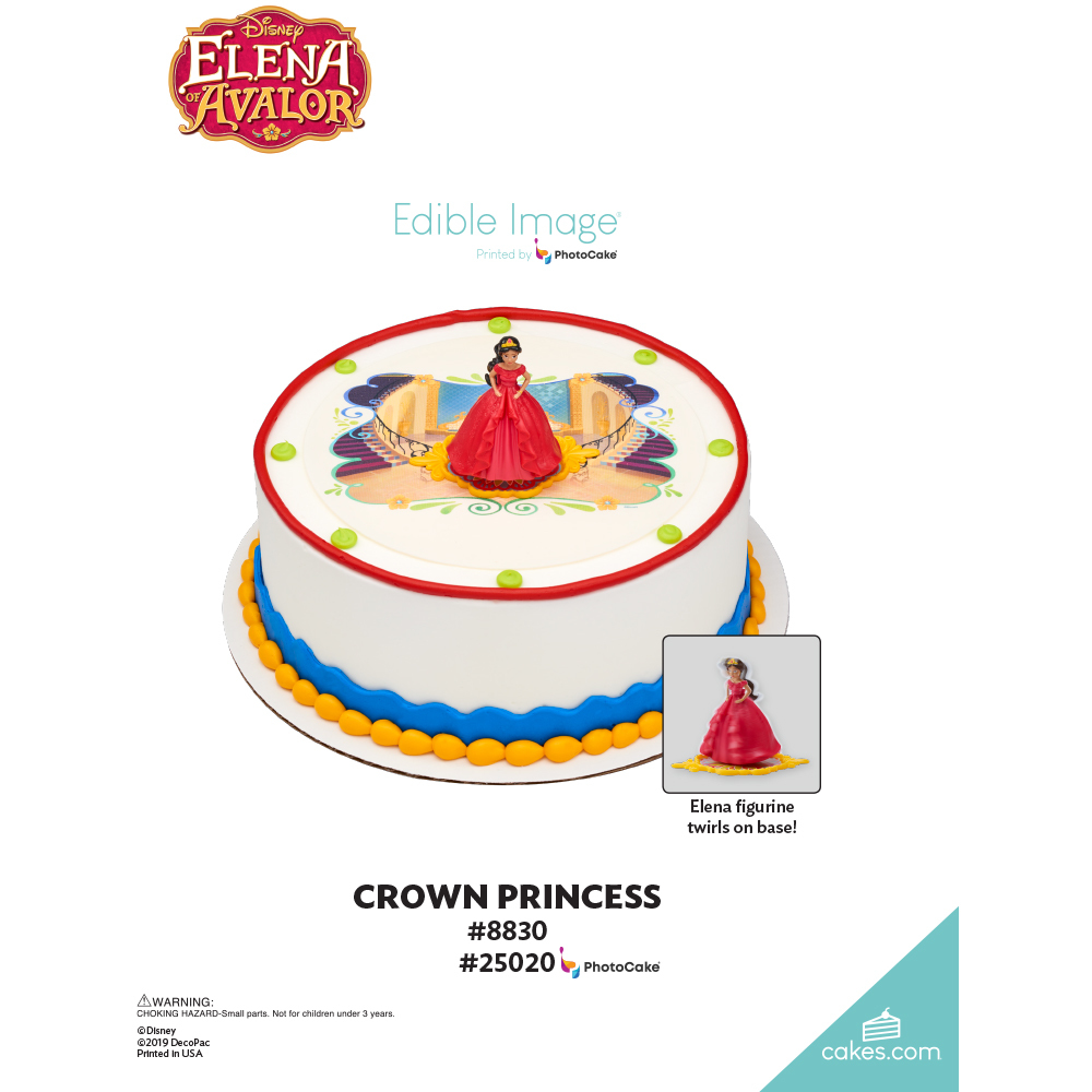 Elena of Avalor Crown Princess The Magic of Cakes® Page