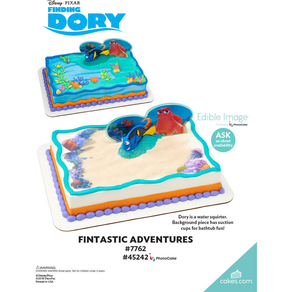 Finding Dory Fintastic Adventures The Magic of Cakes® Page