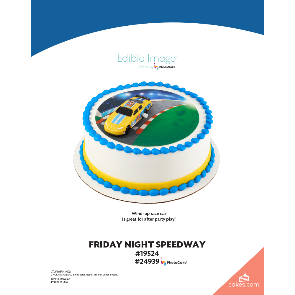 Friday Night Speedway The Magic of Cakes® Page