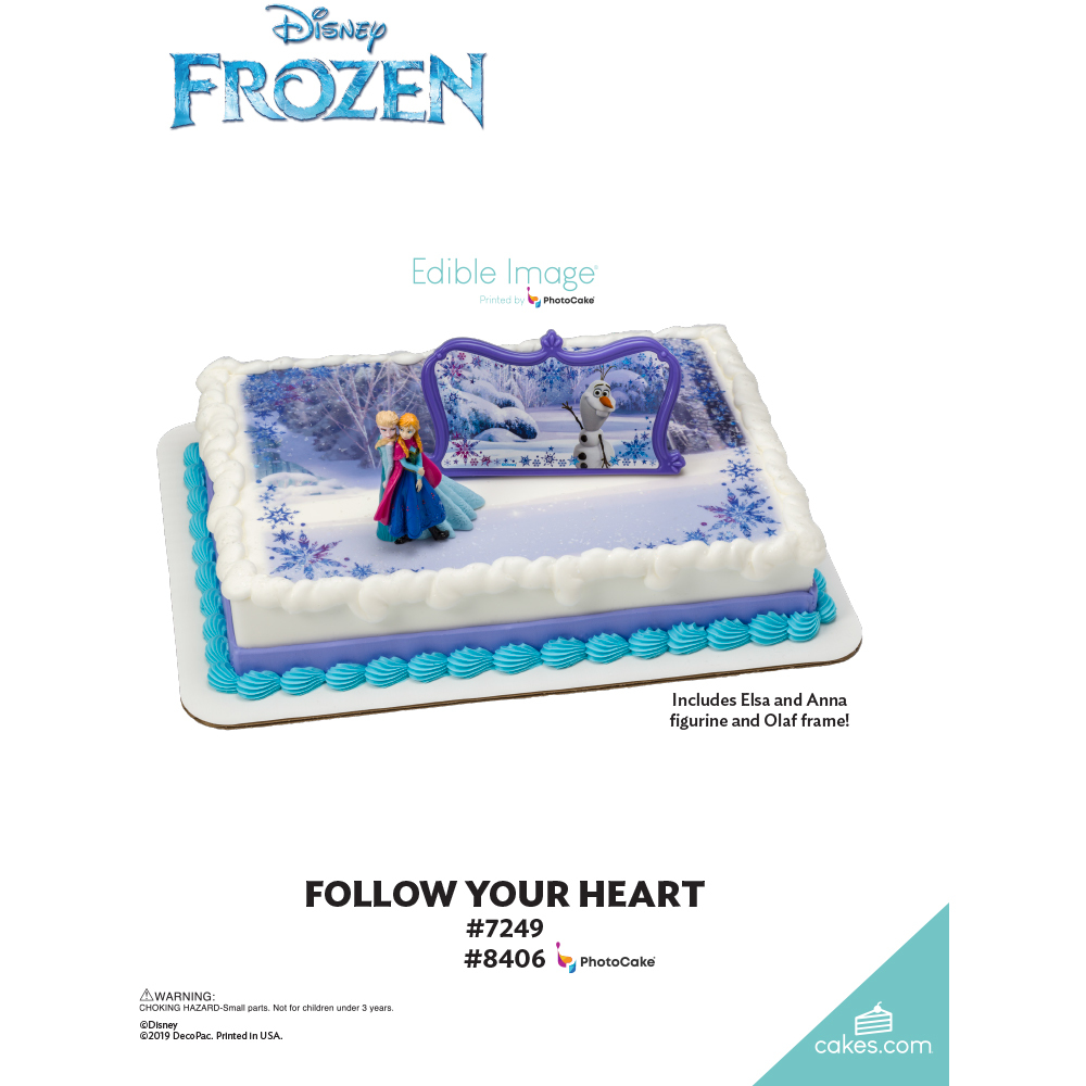 Frozen Follow Your Heart The Magic of Cakes® Page