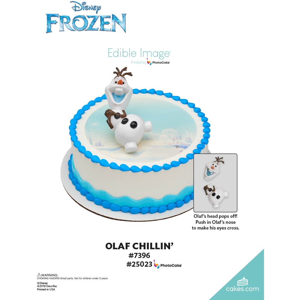 Frozen Olaf Chillin' The Magic of Cakes® Page