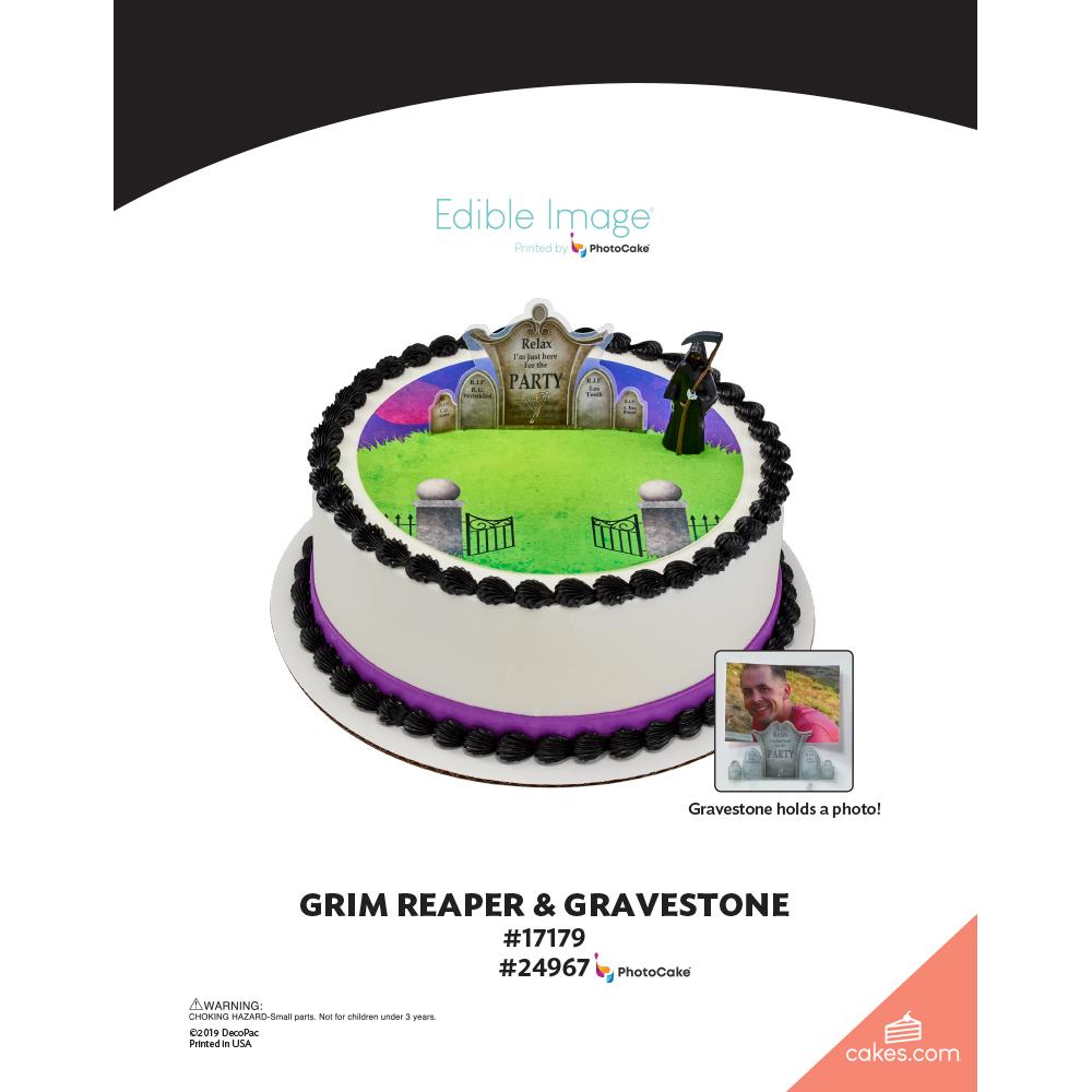Grim Reaper & Gravestone The Magic of Cakes® Page