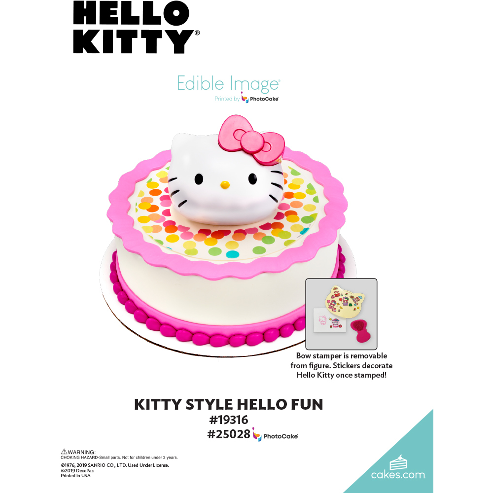 Hello Kitty® Kitty Style The Magic of Cakes® Page