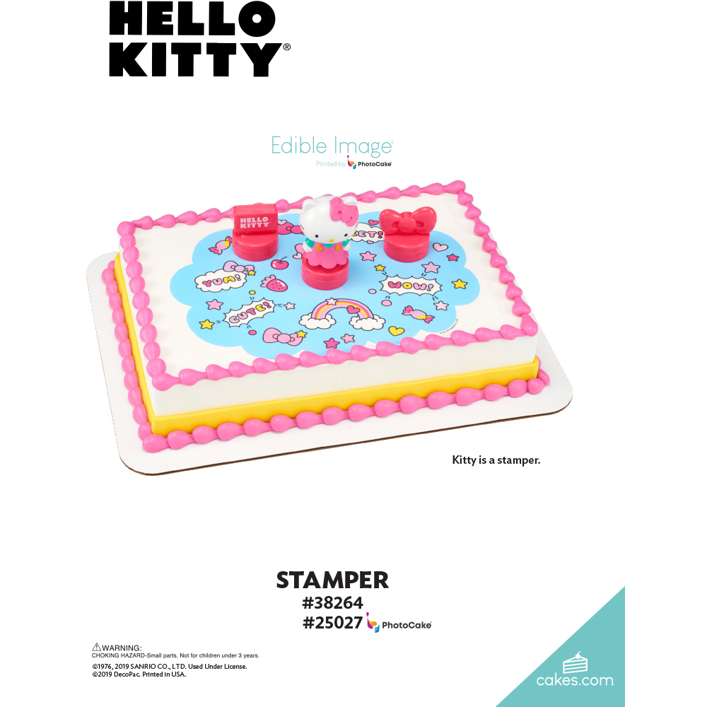 Hello Kitty® Stamper The Magic of Cakes® Page