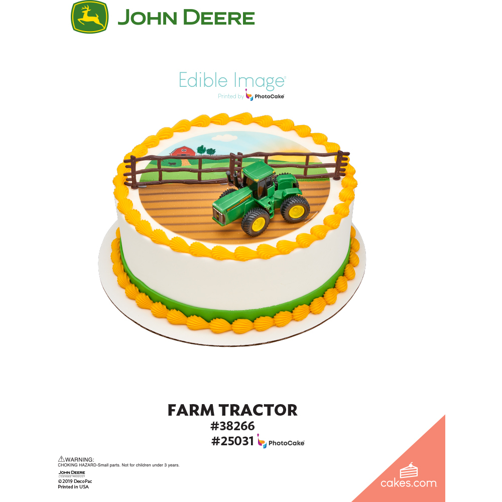 John Deere Tractor The Magic of Cakes® Page