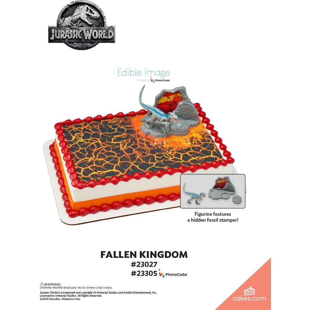 Jurassic World™ Fallen Kingdom The Magic of Cakes® Page