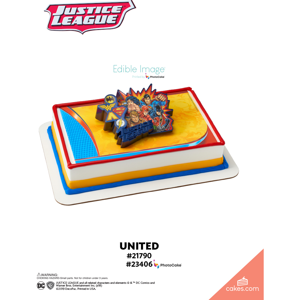 Justice League™ United The Magic of Cakes® Page
