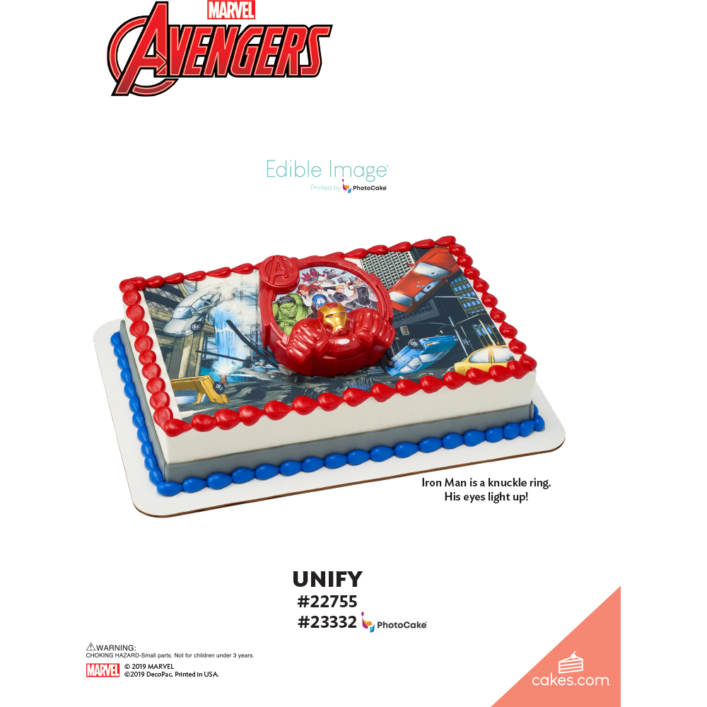 MARVEL Avengers Unify The Magic of Cakes® Page
