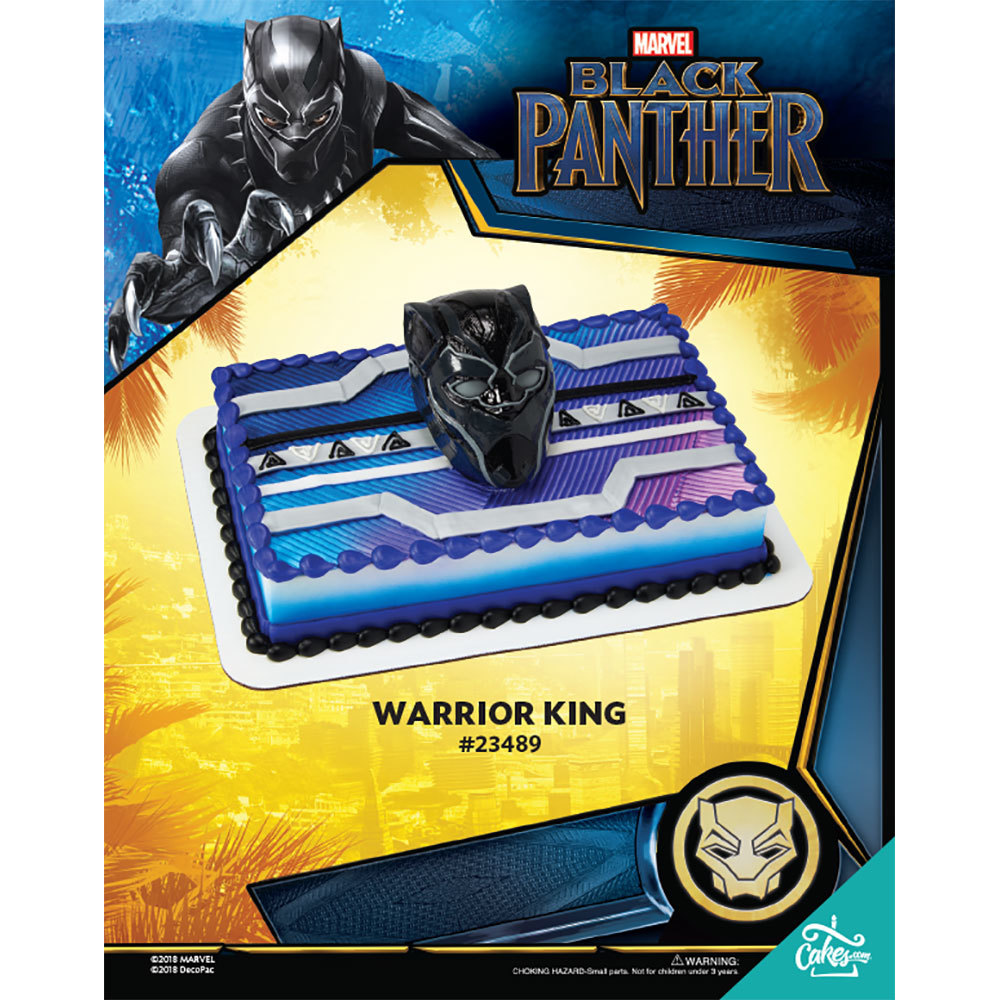 Marvel's Black Panther Warrior King DecoSet® The Magic of Cakes® Page