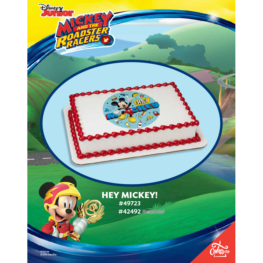 Mickey and the Roadster Racers Hey Mickey! The Magic of Cakes® Page