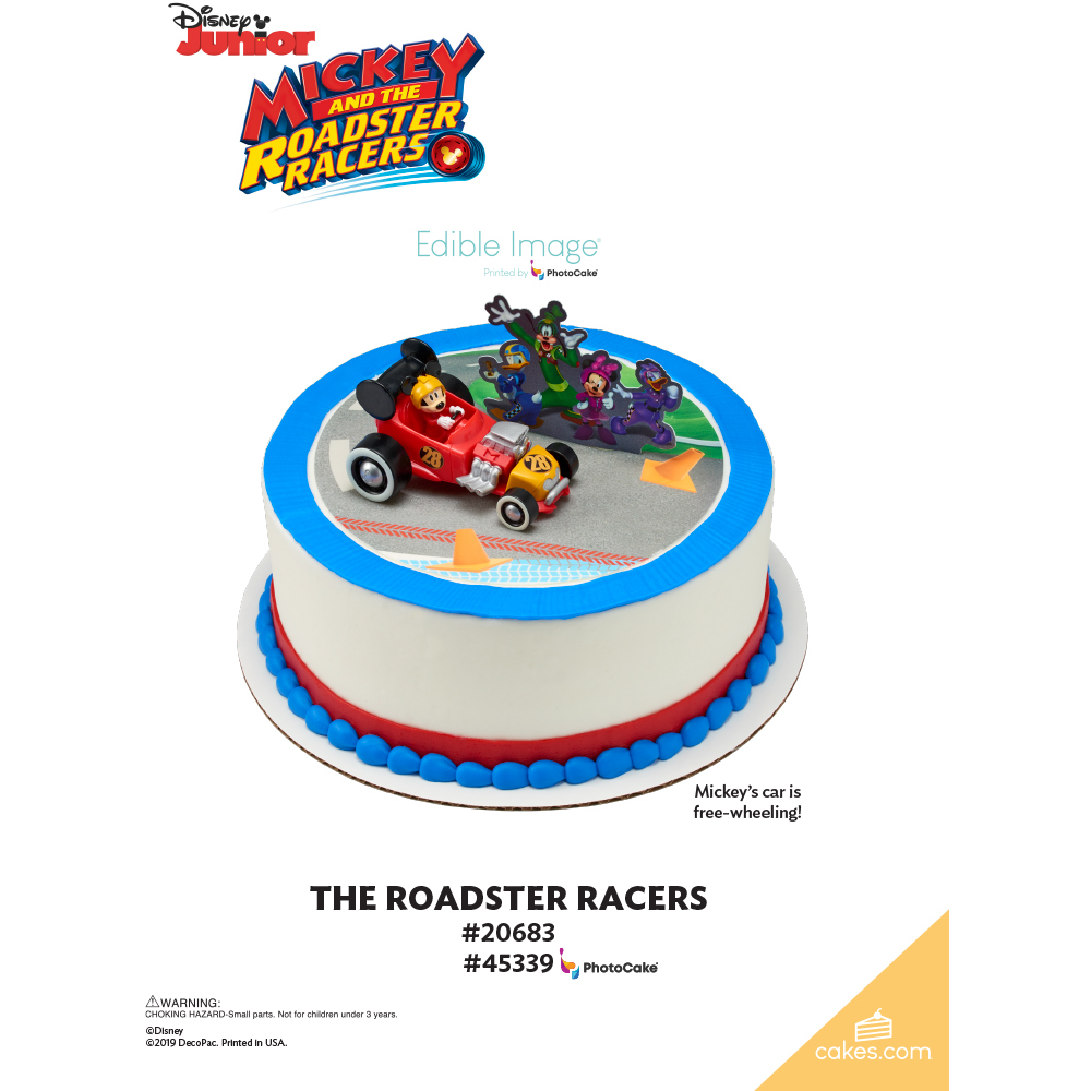 Mickey and the Roadster Racers The Magic of Cakes® Page