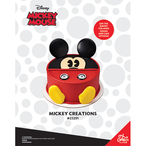 Mickey Creations The Magic of Cakes® Page