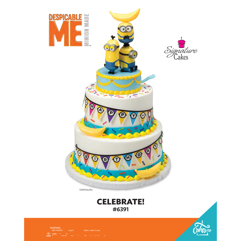 Minions Celebrate Signature Cake DecoSetR The Magic Of CakesR Page