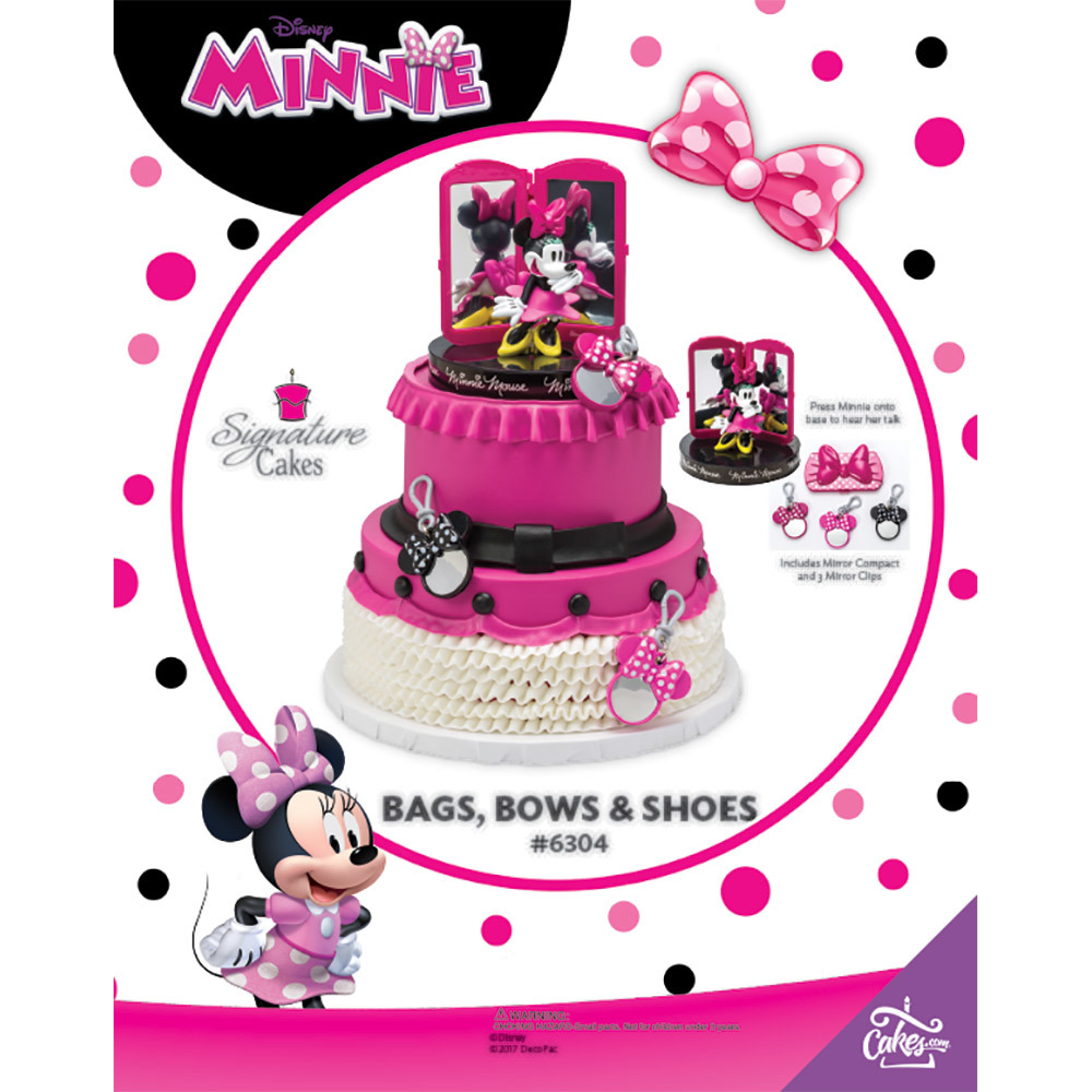 Minnie Mouse Bags Bows And Shoes The Magic Of Cakes Page Decopac
