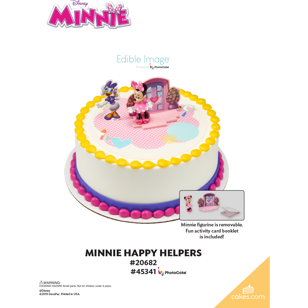 Minnie Mouse Happy Helpers The Magic of Cakes® Page