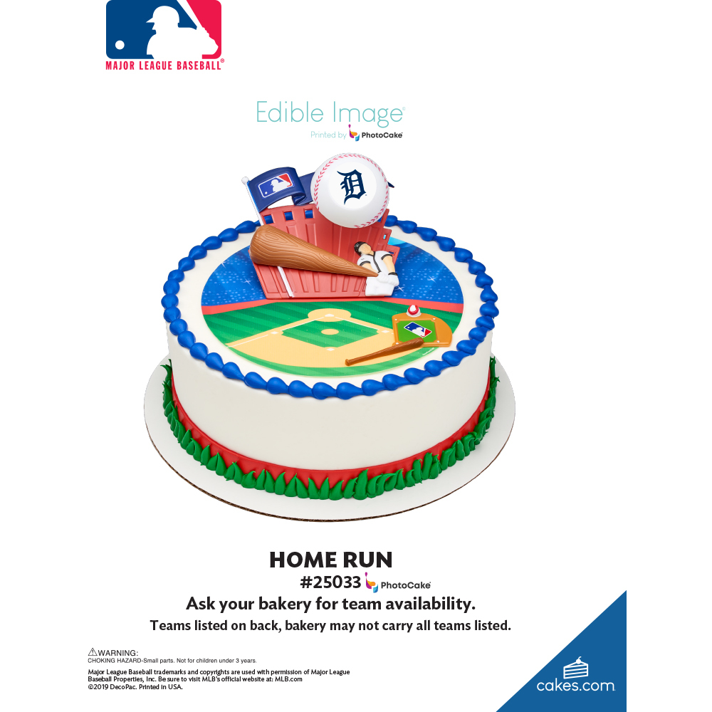 MLB® Home Run The Magic of Cakes® Page