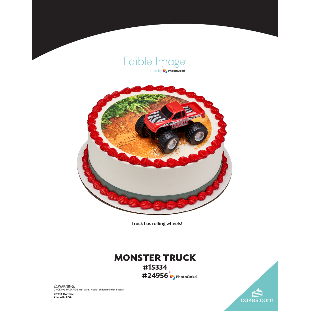 Monster Truck The Magic of Cakes® Page