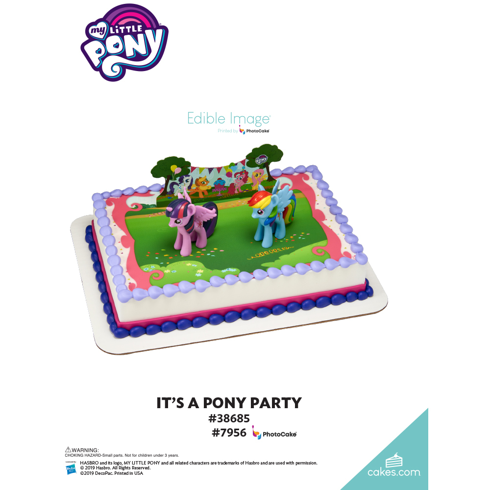 My Little Pony™ It's a Pony Party! The Magic of Cakes® Page