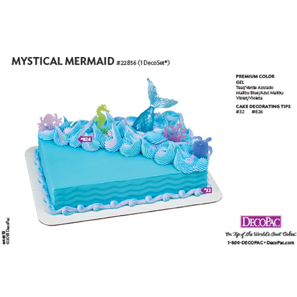 Mystical Mermaid DecoSet® Cake Decorating Instructions