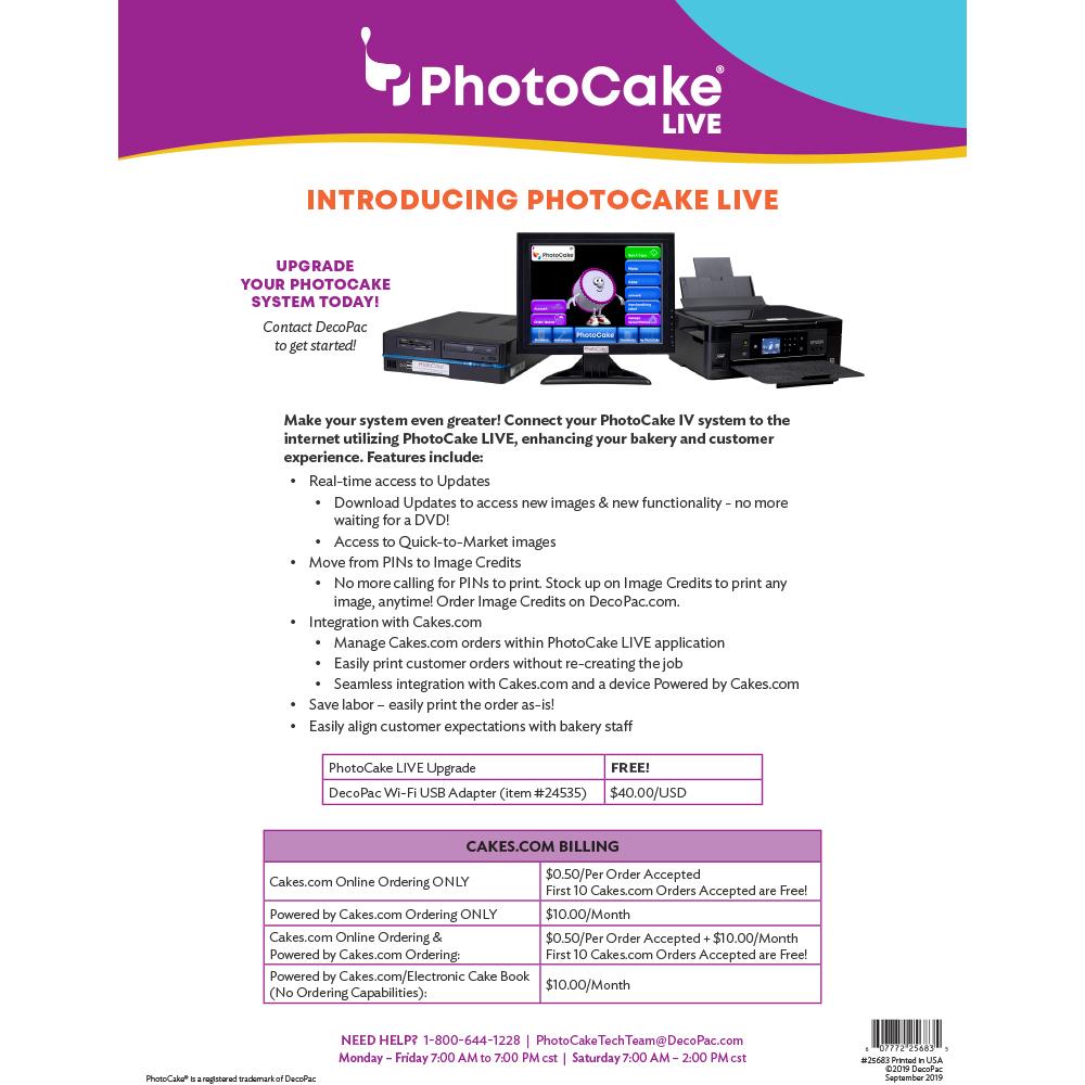 PhotoCake® Live Introduction