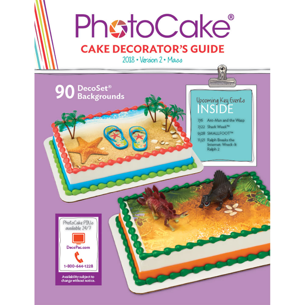 PhotoCake® Update 37 Decorators Guide