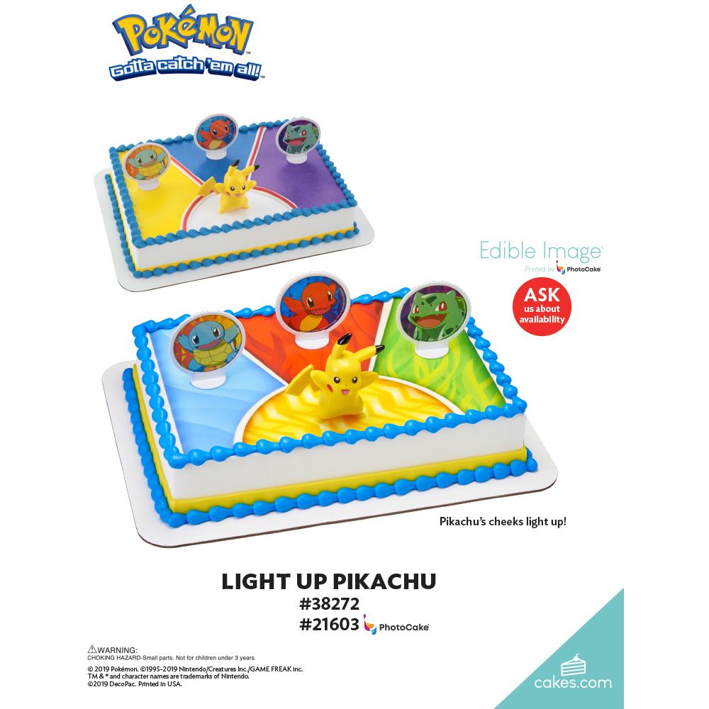 Pokémon™ Light Up Pikachu The Magic of Cakes® Page