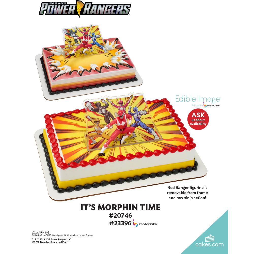 Power Rangers™ It's Morphin Time The Magic of Cakes® Page