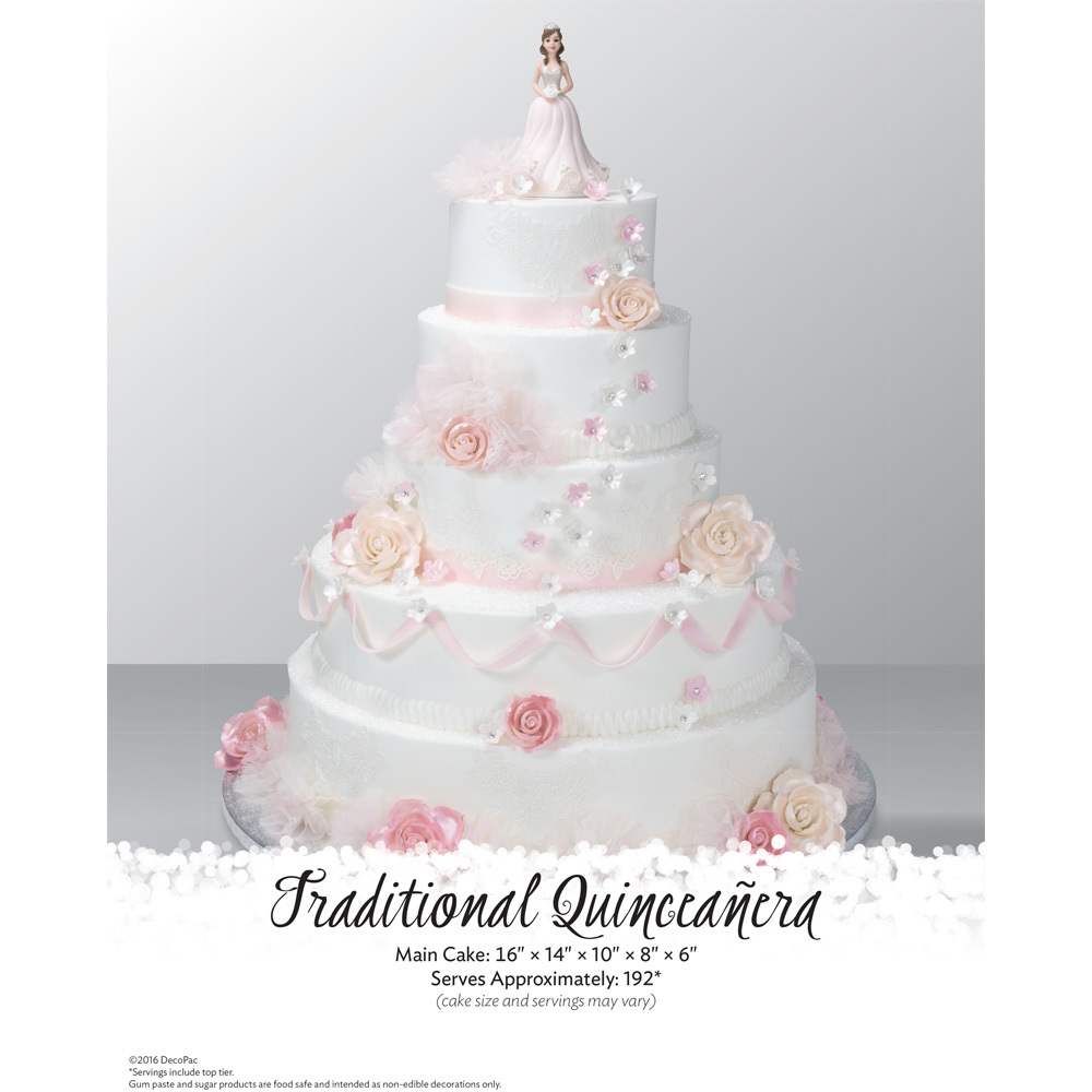 Quinceanera Traditional Stacked Cake The Magic Of Cakes® Page | DecoPac