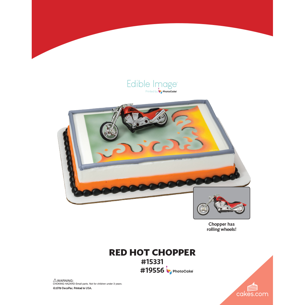 Red Hot Chopper The Magic of Cakes® Page