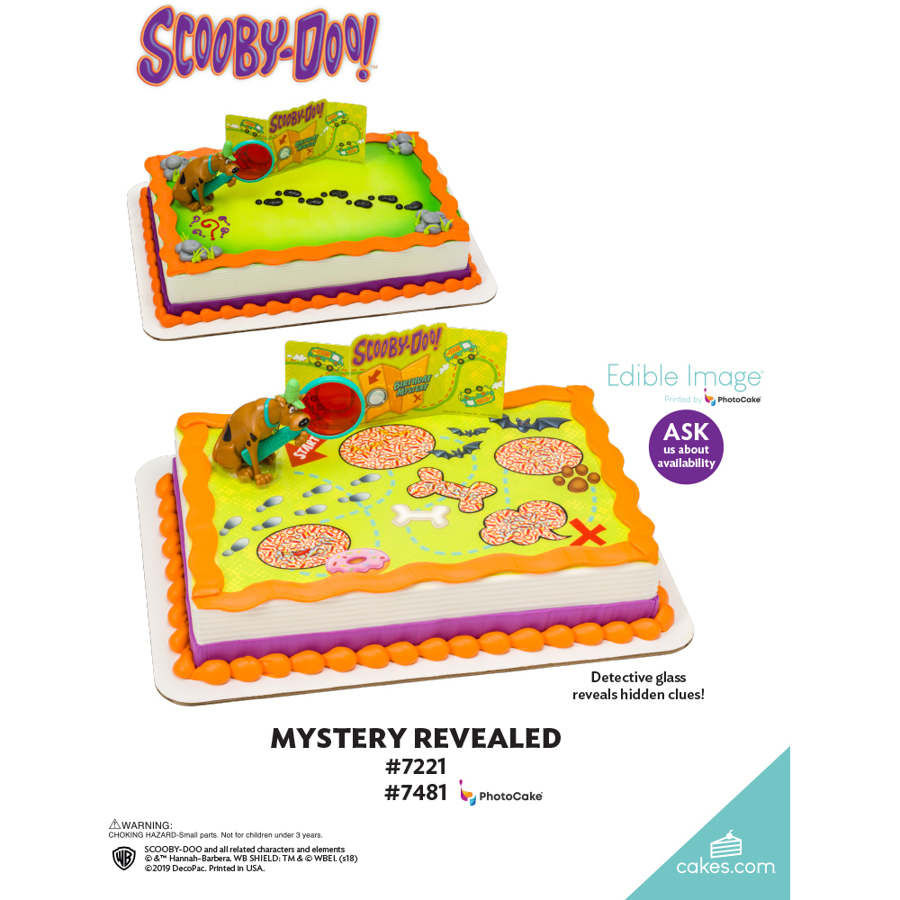 Scooby-Doo!™ Mystery Machine The Magic of Cakes® Page