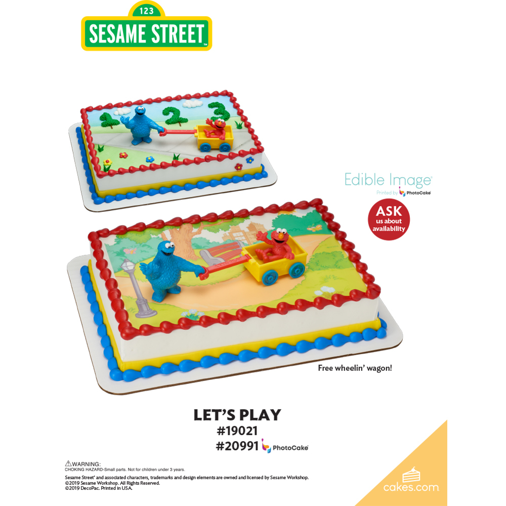 Sesame Street® Let's Play The Magic of Cakes® Page