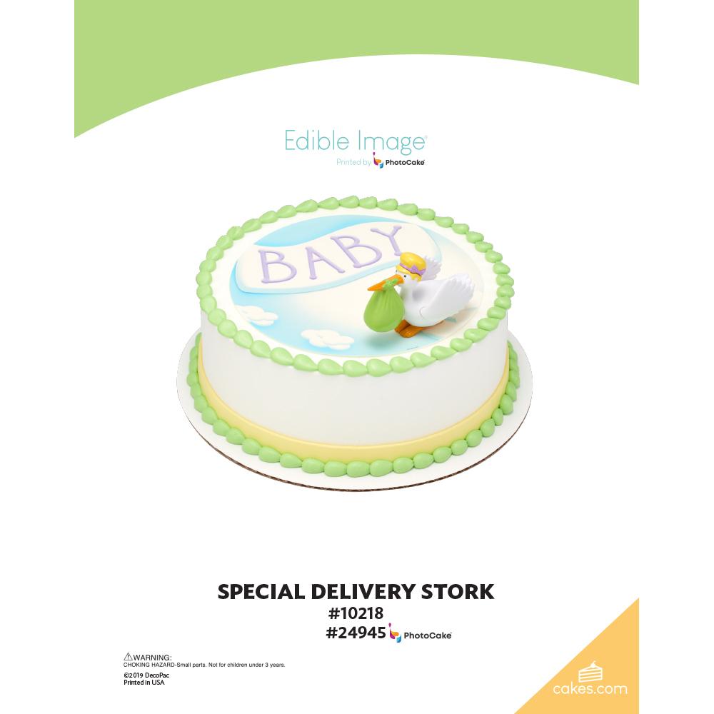 Special Delivery Stork The Magic of Cakes® Page