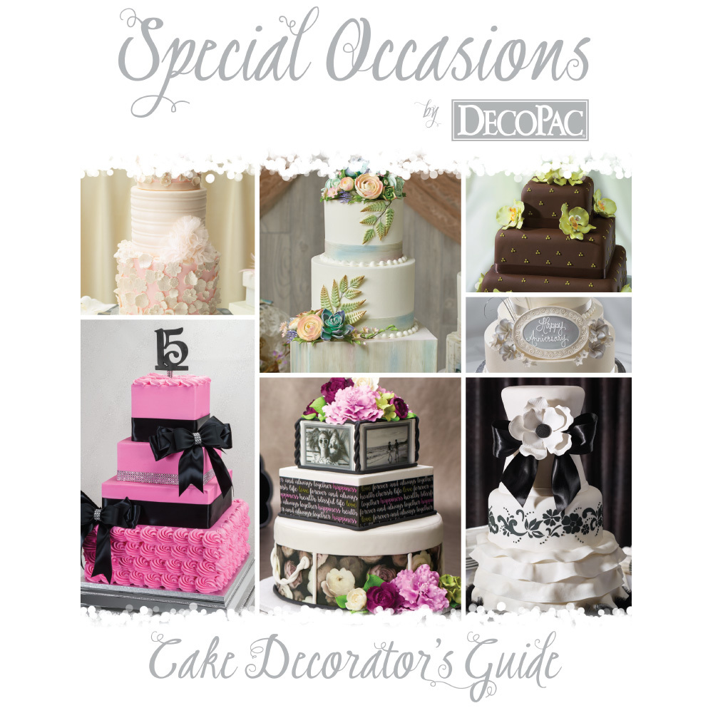 2a07548be698 Special Occasions Cake Decorator's Guide | DecoPac