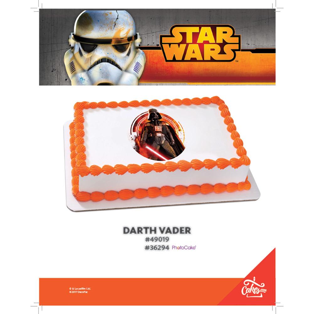 Star Wars™ Darth Vader PhotoCake / Edible Image® The Magic of Cakes® Page