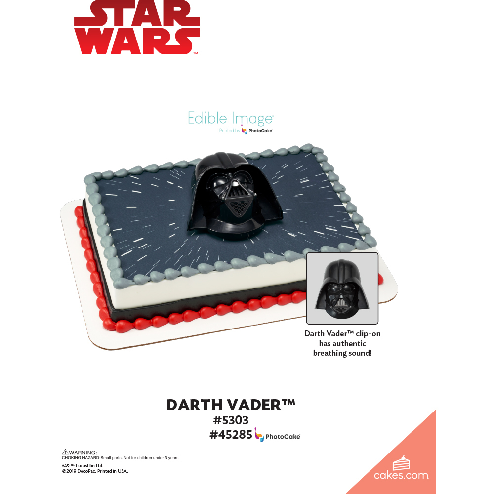 Star Wars™ Darth Vader™ The Magic of Cakes® Page