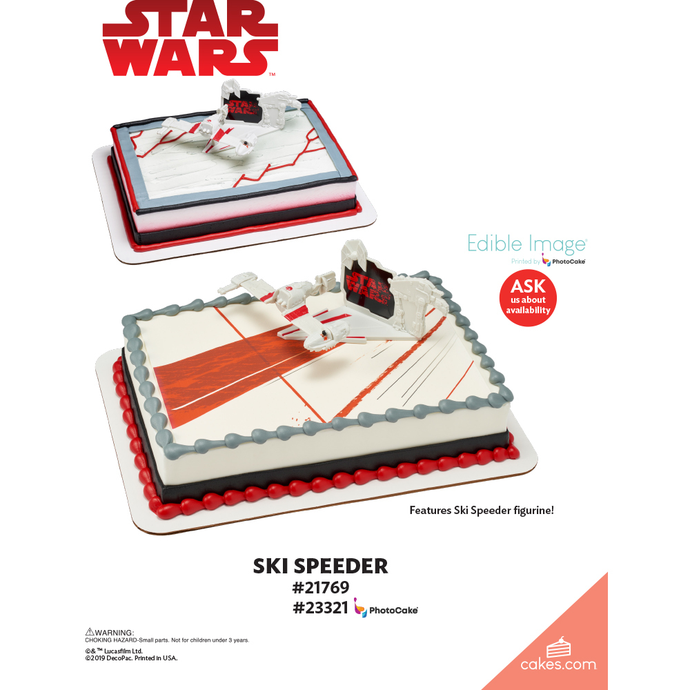 Star Wars™: The Last Jedi Ski Speeder The Magic of Cakes® Page