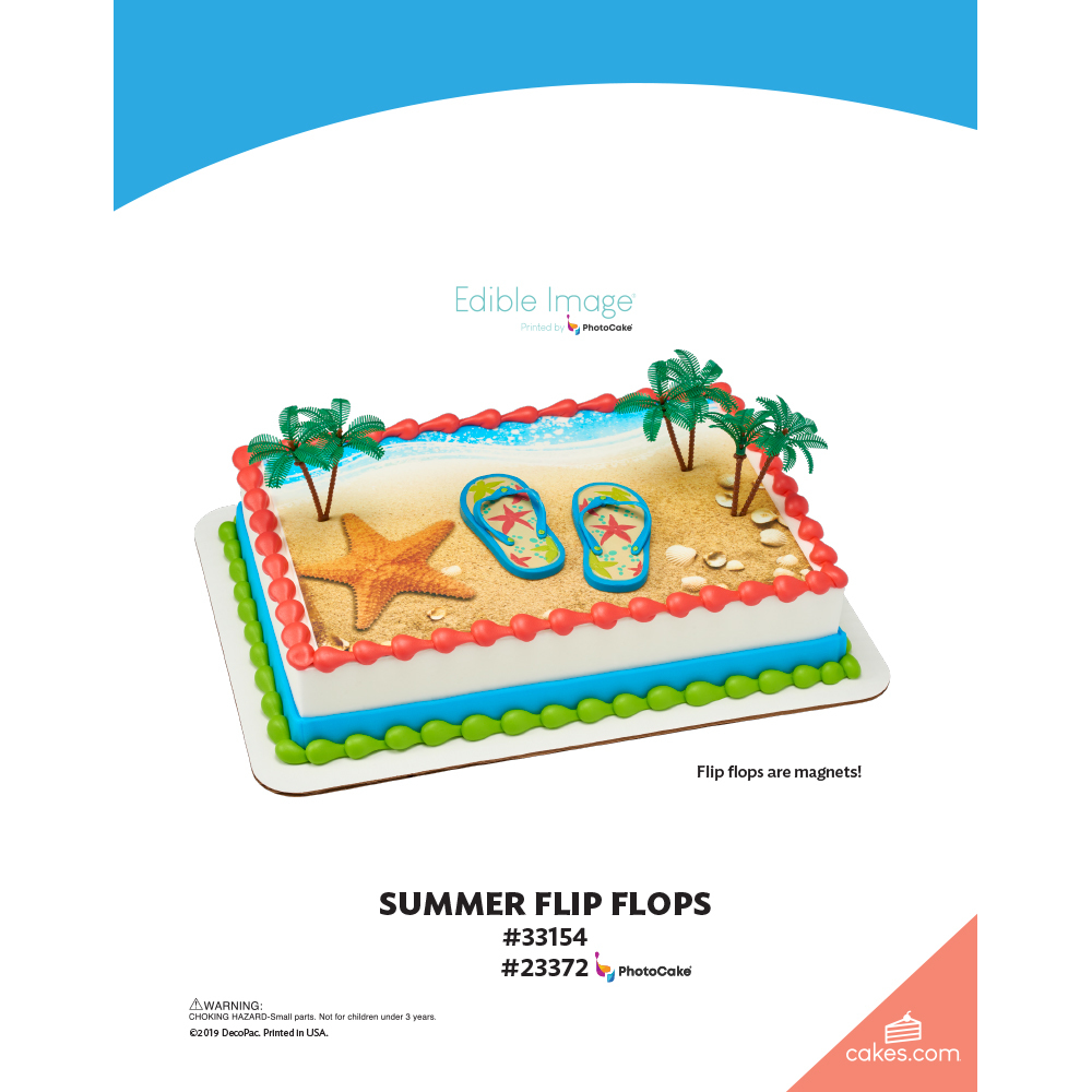 Summer Flip Flops The Magic of Cakes® Page