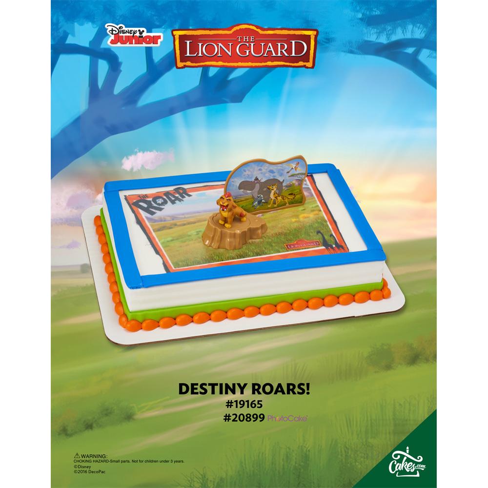 The Lion Guard Destiny Roars PhotoCake® DecoSet® Background 1/4 Sheet The Magic of Cakes® Page