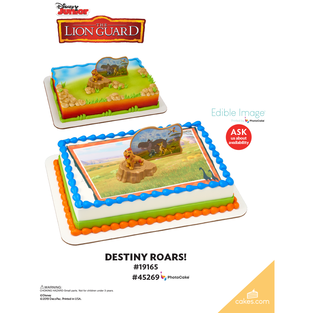 The Lion Guard Destiny Roars! The Magic of Cakes® Page
