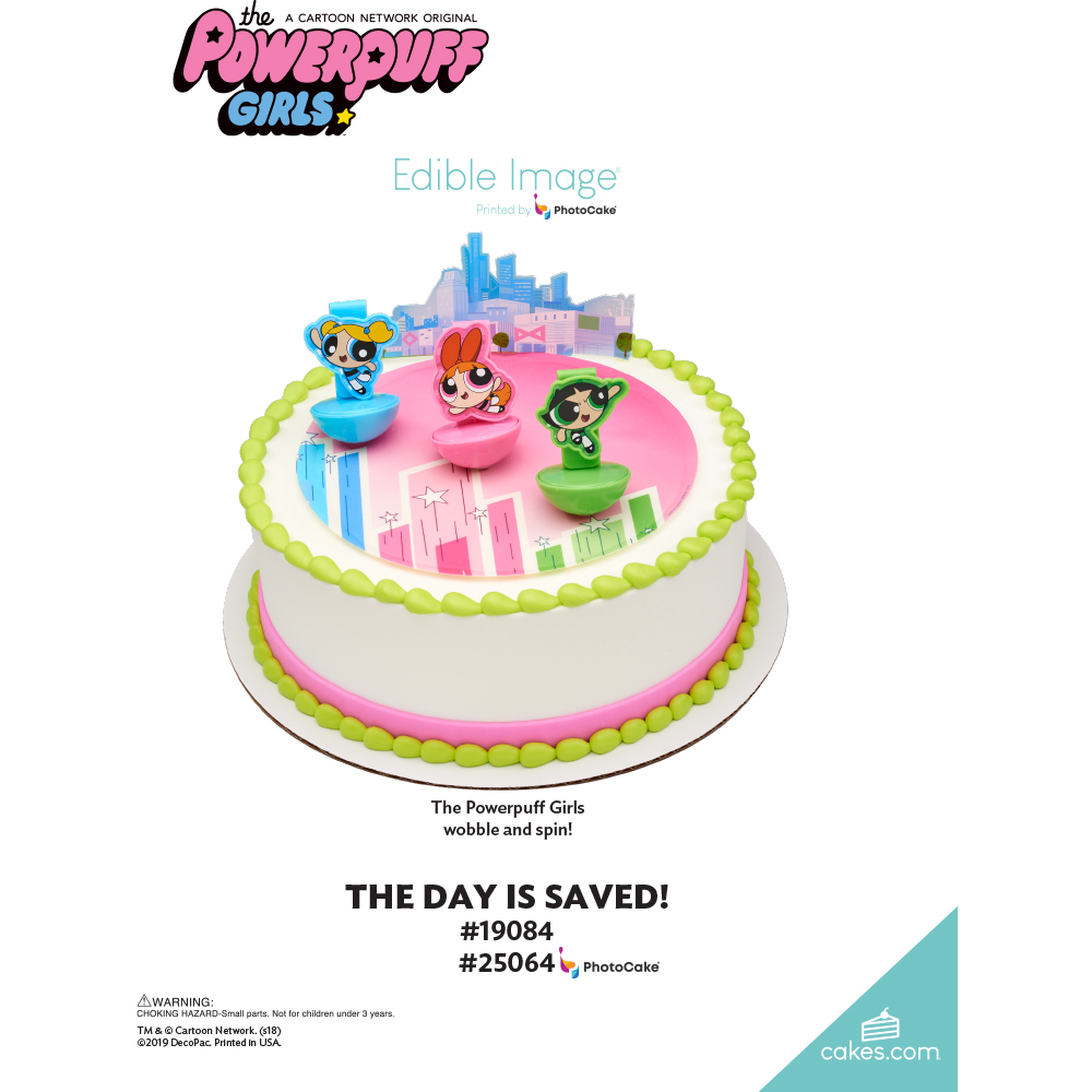 The Powerpuff Girls™ The Day is Saved! The Magic of Cakes® Page
