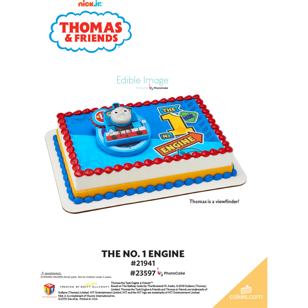 Thomas & Friends™ The No.1 Engine The Magic of Cakes® Page
