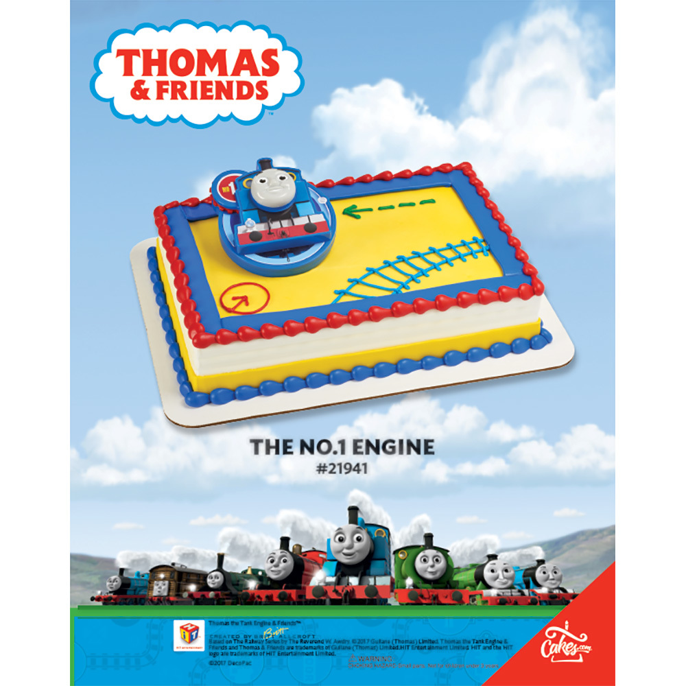 Thomas the Tank The No. 1 Engine DecoSet® The Magic of Cakes® Page