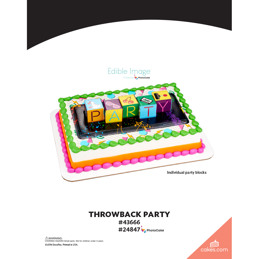 Throwback Party The Magic of Cakes® Page