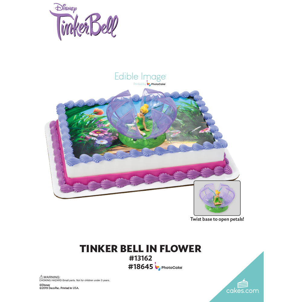 Tinker Bell in Flower The Magic of Cakes® Page