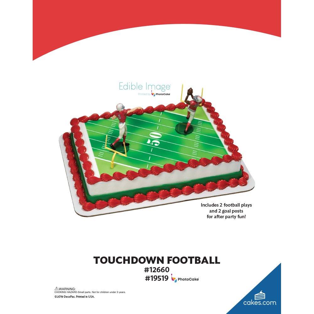 Touchdown Football The Magic of Cakes® Page